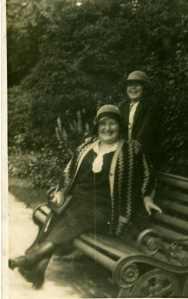 Two jolly looking ladies