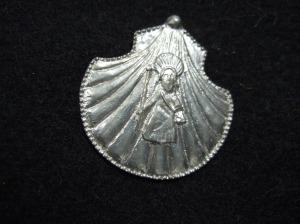 Pilgrim's badge (a shell) from Santiago de Compostela