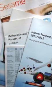 A selection Open University prospectuses