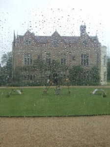 National Trust - Greys Court in the rain
