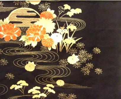 Textile sampler detail