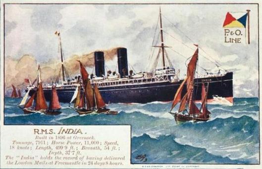 RMS India (P&O)