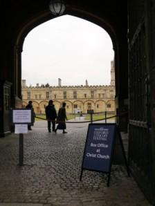 Oxford Literary Festival Tom Gate