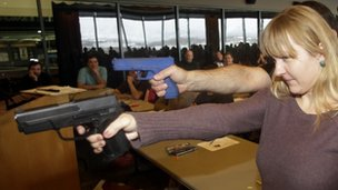 BBC News - South Dakota to allow armed teachers in schools
