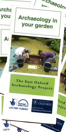 Archaeology in your garden (leaflet)