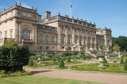 Harewood House and formal garden