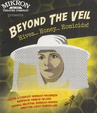Mikron Beyond the Veil Flyer
