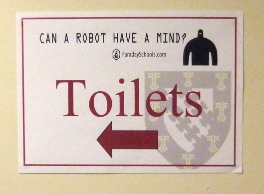 sign: Can a robot have a mind?