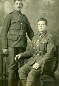 Two soldiers (WWI)
