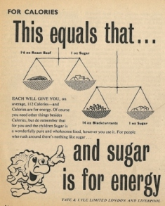 Advert for sugar