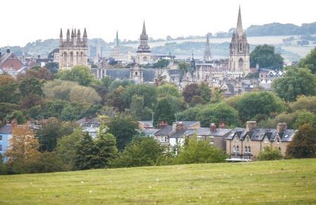Oxford skyline form South Park