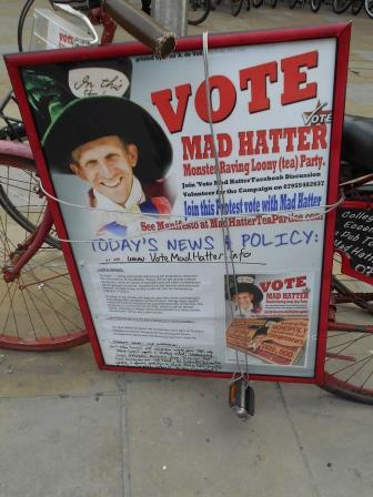 Election 2015 Mad Hatter