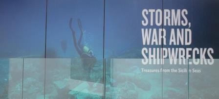 Sicily Storms and Shipwrecks Poster