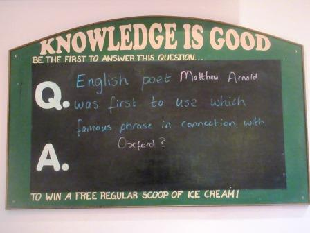 Ice Cream Question