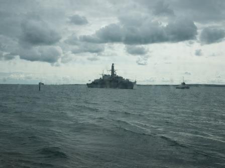 HMS Albion - Portsmouth - September 2018