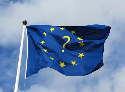 EU Flag Question Mark